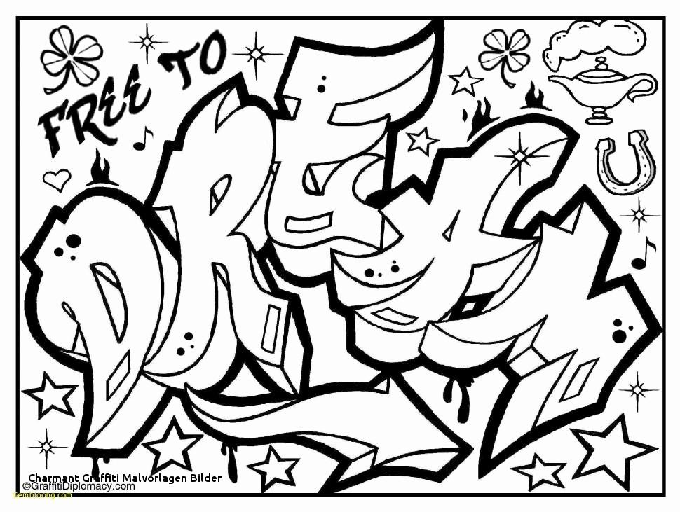 Graffiti Ausmalbilder Namen Neu 46 Stock Von Graffiti Bilder Zum Ausdrucken Bild