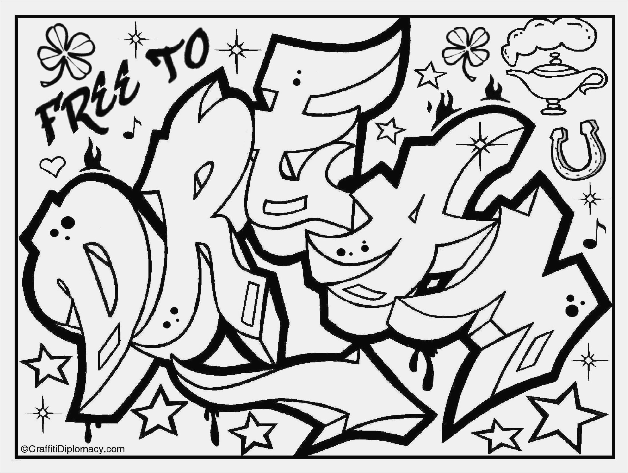 Graffiti Bilder Zum Ausmalen Neu Schrift Malvorlagen Ungewöhnlichen Kostenlose Ausmalbilder Bilder Sammlung