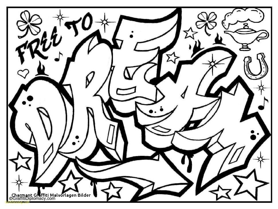 Graffiti Schrift Zum Ausmalen Das Beste Von 23 Charmant Graffiti Malvorlagen Bilder Sammlung