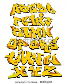 Graffiti Schrift Zum Ausmalen Einzigartig 223 Besten Graffiti Alphabet Bilder Auf Pinterest In 2018 Galerie