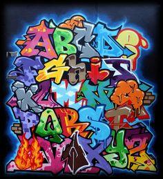 Graffiti Schrift Zum Ausmalen Frisch 239 Besten Graffiti Abc Bilder Auf Pinterest Sammlung