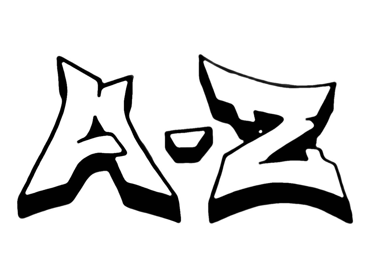 Graffiti Schrift Zum Ausmalen Genial Graffiti Buchstaben A Z Kunst Das Bild