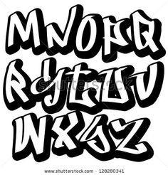 Graffiti Schrift Zum Ausmalen Neu Graffiti Buchstaben A Z Kunst Bilder