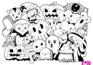 Gruselige Monster Ausmalbilder Einzigartig Halloween Monster Malvorlagen Ausmalbilder Rund Um Halloween Bild