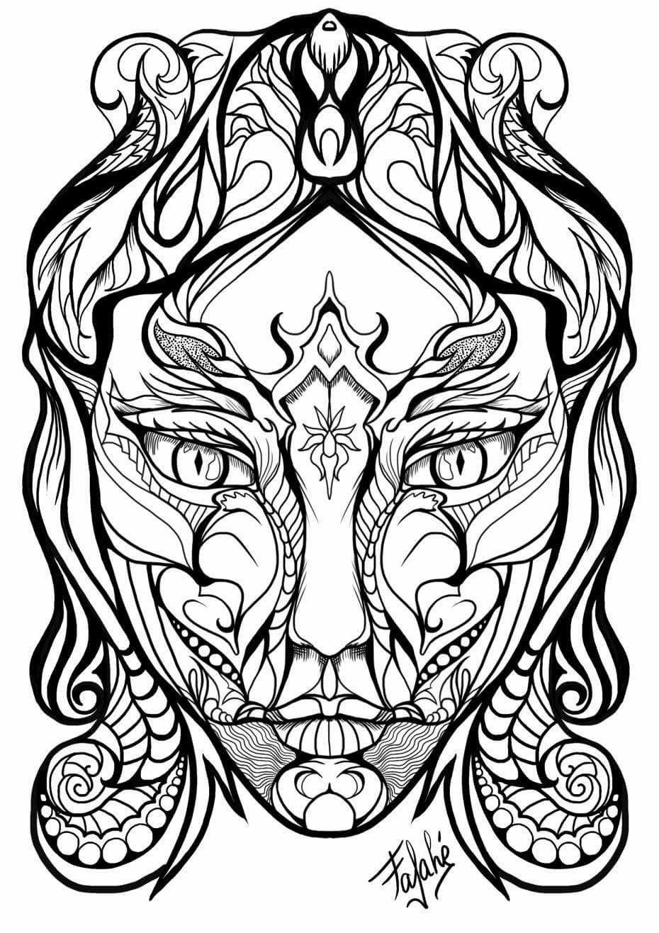 """Gruselige Monster Ausmalbilder Einzigartig Pin by Leila Fathii Art is ¢â""""¢¥ Pinterest Inspirierend Böse Galerie"""