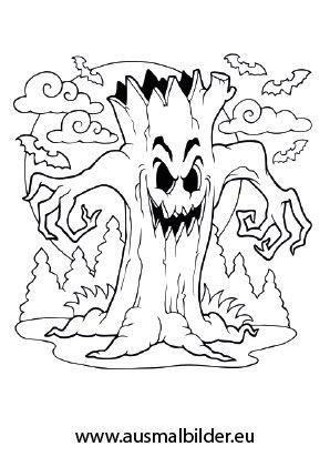 Gruselige Monster Ausmalbilder Frisch Halloween Monster Malvorlagen Ausmalbilder Rund Um Halloween Bilder