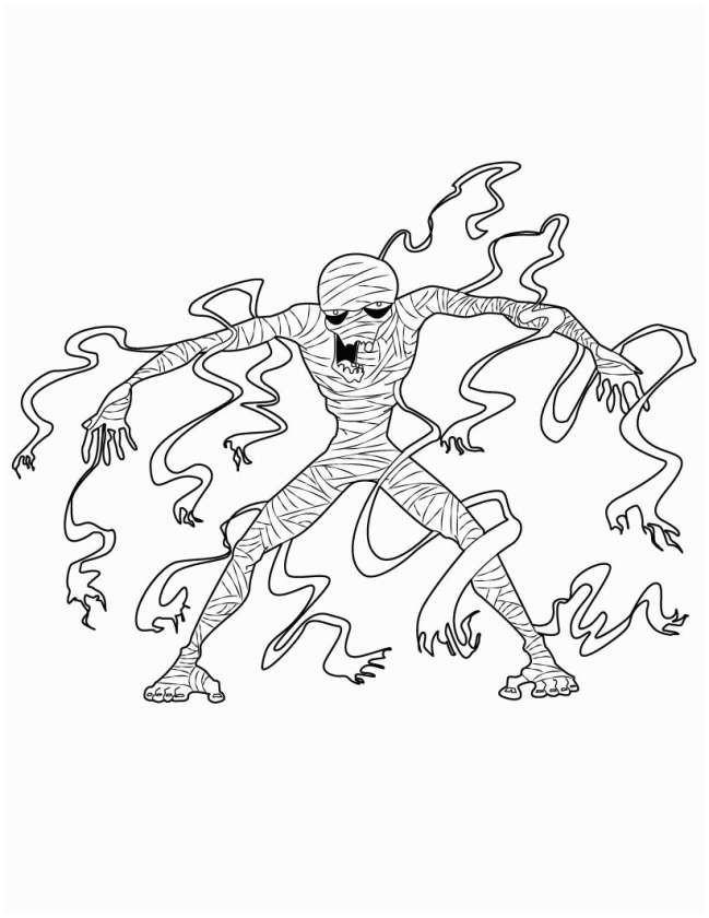 Gruselige Monster Ausmalbilder Genial Halloween Monster Malvorlagen Ausmalbilder Rund Um Halloween Galerie
