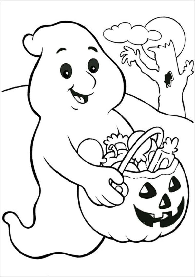 Halloween Ausmalbilder Geister Frisch Halloween Ausmalbilder Kürbis Geist Malvorlagen Galerie