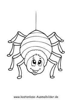 Halloween Ausmalbilder Spinne Genial 181 Besten Spinne Bilder Auf Pinterest In 2018 Bild