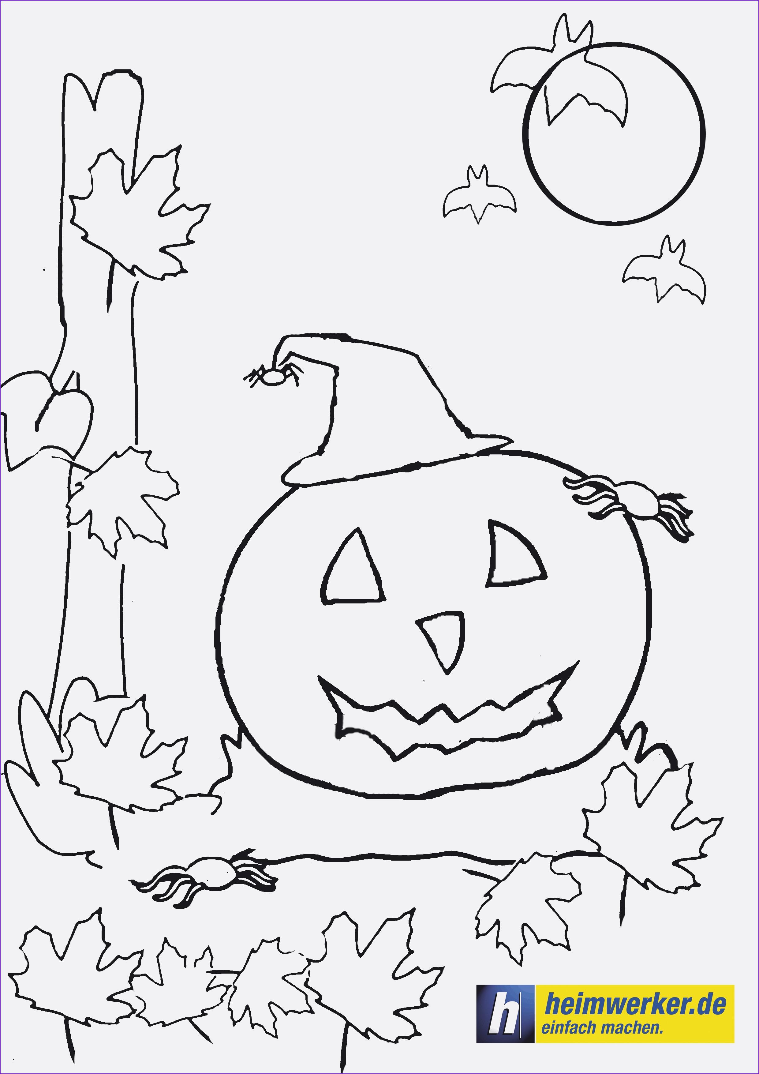 Halloween Ausmalbilder Spinne Genial Halloween Malvorlage Gratis Herunterladen Frisch Ausmalbilder Neu Stock