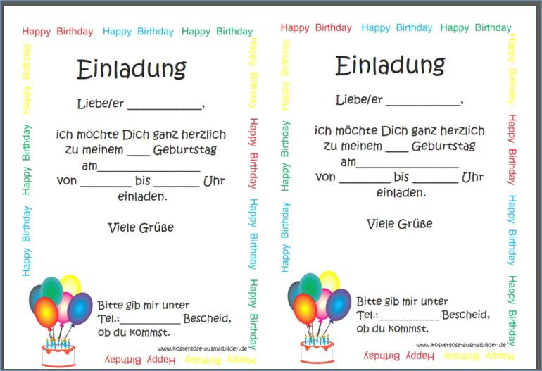 Happy Birthday Ausmalbilder Das Beste Von Einladungen 50 Einladungen Einladung 50 Geburtstag Vorlage Einladung Sammlung