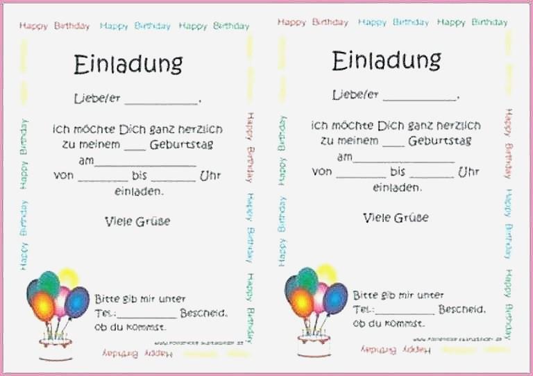 Happy Birthday Zum Ausdrucken Einzigartig Einzigartig Einladungskarten Kindergeburtstag Vorlagen Zum Ausdrucken Fotografieren