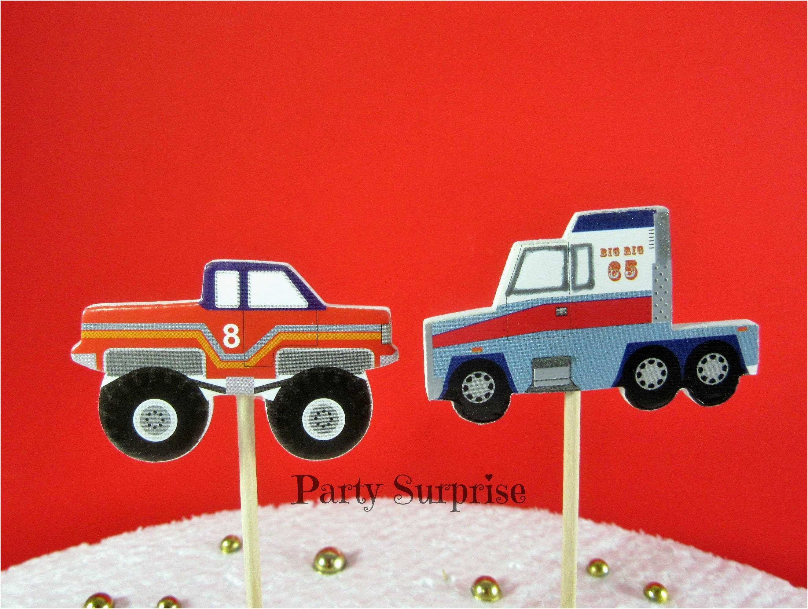 Happy Birthday Zum Ausmalen Genial Monster Truck Birthday Party