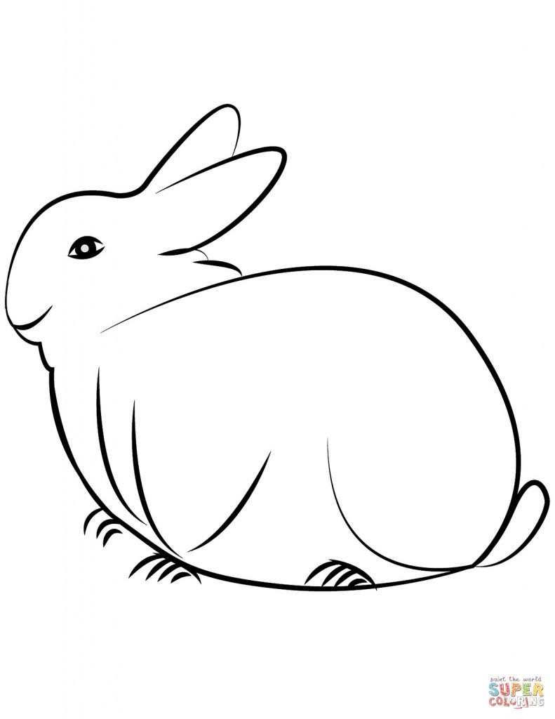 Hasen Bilder Zum Ausdrucken Kostenlos Einzigartig Druckbare Malvorlage Ausmalbild Kaninchen Beste Druckbare Fotos
