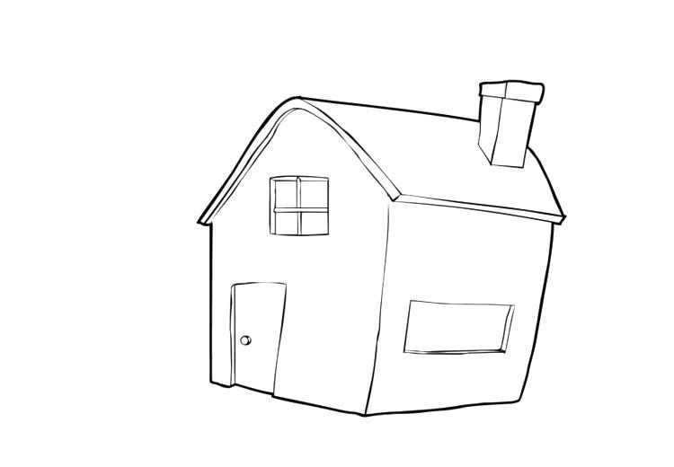 Haus Mit Garten Ausmalbild Genial Haus Malvorlagen Malvorlagen Haus Mit Garten Inagakiyu Info Avec Bild