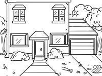 Haus Mit Garten Ausmalbild Genial Haus Malvorlagen Malvorlagen Haus Mit Garten Inagakiyu Info Avec Das Bild