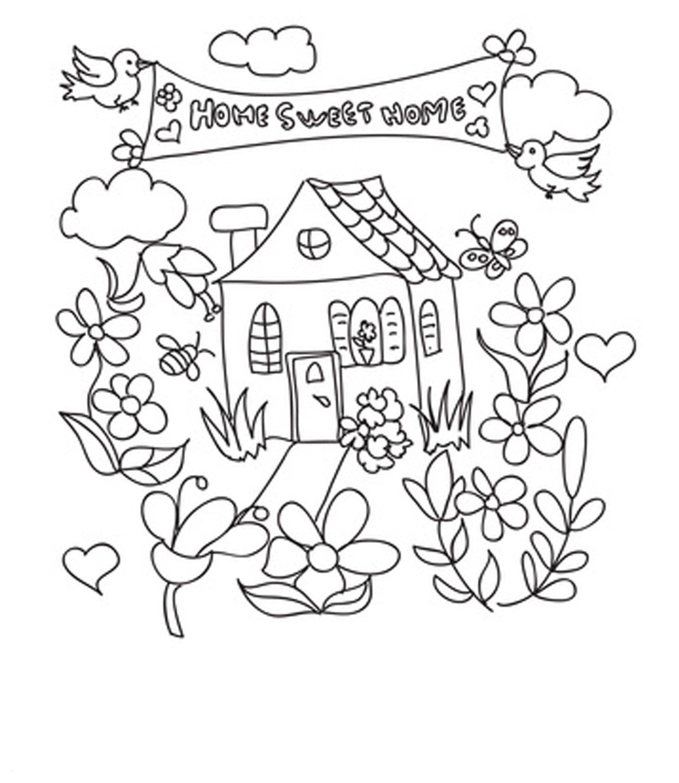Haus Mit Garten Ausmalbild Inspirierend Ausmalbilder Haus Mit Garten Uploadertalk Schön Malvorlagen Garten Fotografieren