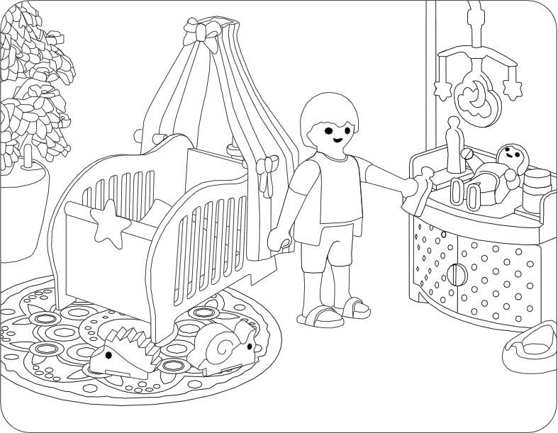 Haus Mit Garten Ausmalbild Neu Ausmalen Macht Spaß Alle Playmobil Malvorlagen Avec Ausmalbild Haus Sammlung