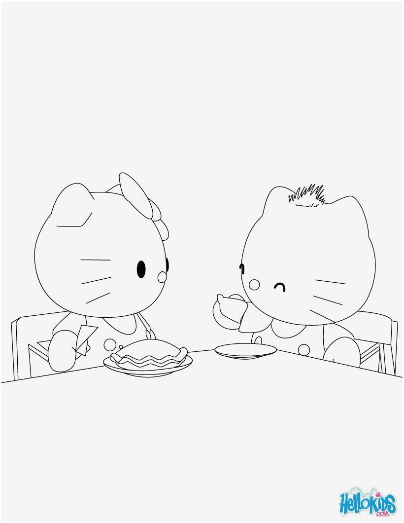 Hello Kitty Ausmalbild Das Beste Von 40 Fantastisch Hello Kitty Malvorlage – Große Coloring Page Sammlung Bilder
