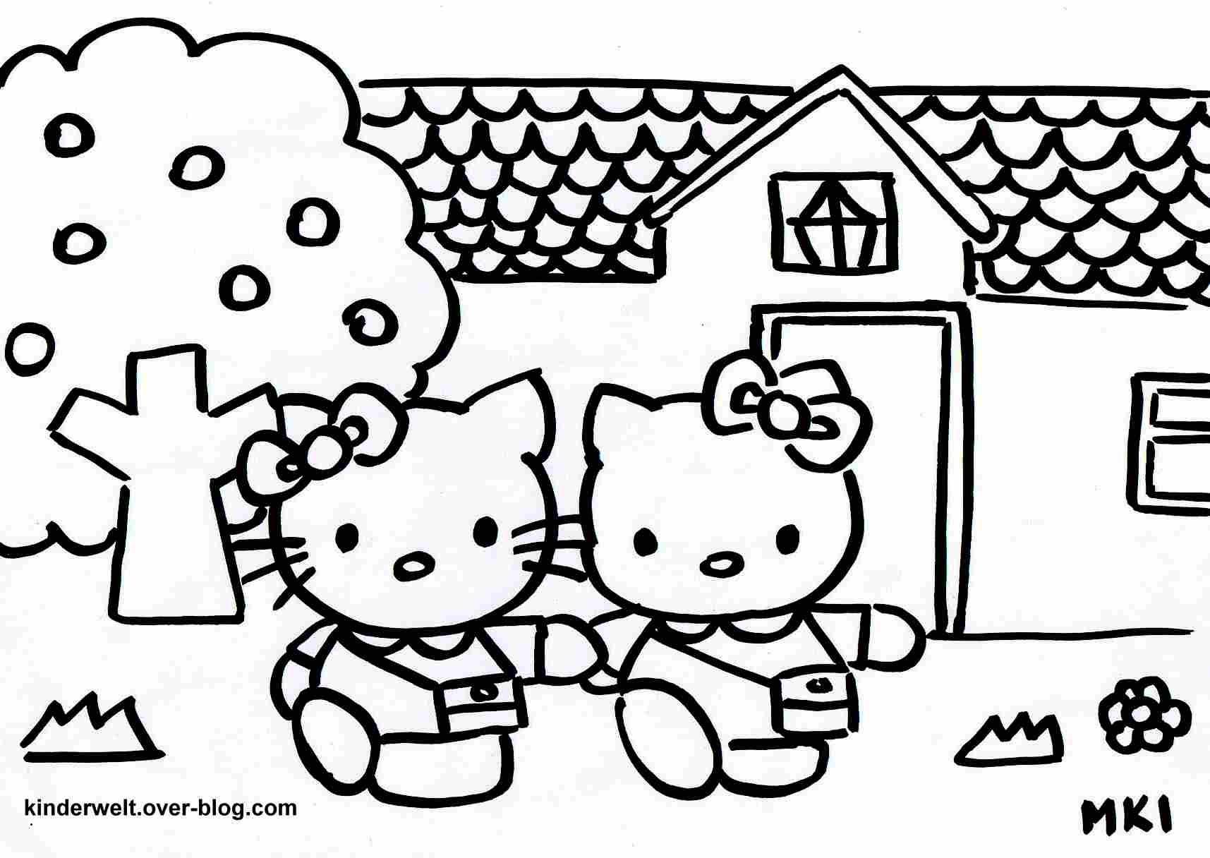 Hello Kitty Ausmalbild Frisch 52 Architektur Ausmalbilder Hello Kitty Ausdrucken Treehouse Nyc Bild