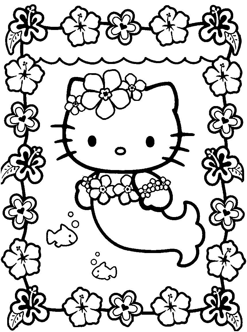 Hello Kitty Ausmalbild Inspirierend 40 Fantastisch Hello Kitty Malvorlage – Große Coloring Page Sammlung Bild