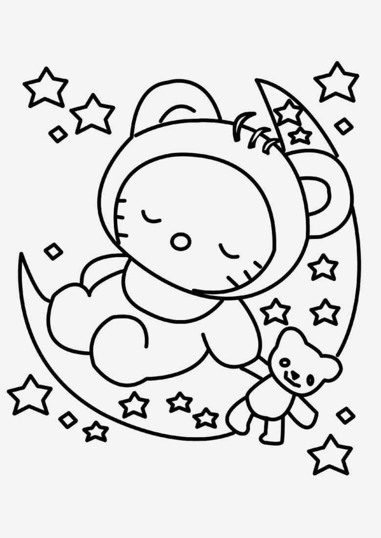 Hello Kitty Ausmalbild Neu Ausmalbild Elfe Spannende Coloring Bilder Hello Kitty Ausmalbilder Stock