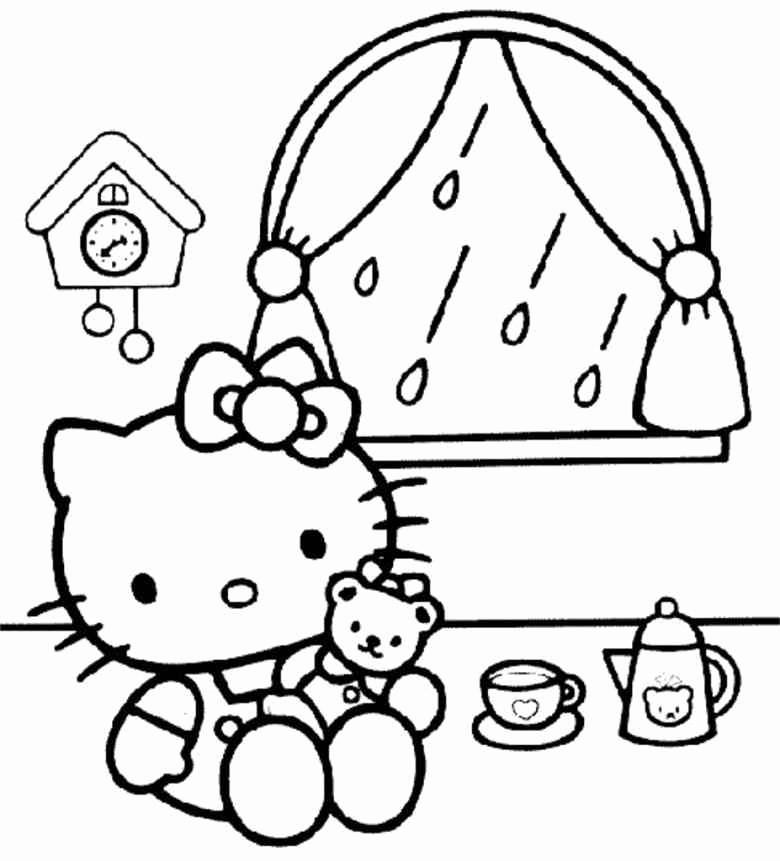 54 Model designs Von Hello Kitty Zum Ausmalen
