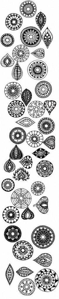 Henna Vorlagen Zum Ausdrucken Das Beste Von Die 620 Besten Bilder Von Mandala Vorlagen Bild