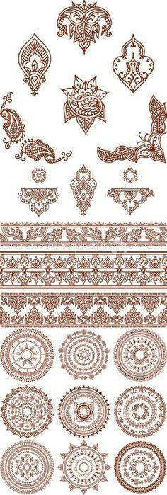 Henna Vorlagen Zum Ausdrucken Einzigartig 8 Besten Henna Farbe Bilder Auf Pinterest Das Bild