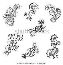 Henna Vorlagen Zum Ausdrucken Frisch Ausmalbilder Blumen Ranken 01 Zeichnen Pinterest Fotografieren