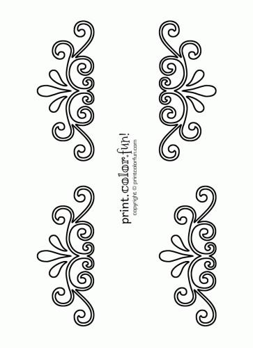 Henna Vorlagen Zum Ausdrucken Frisch Printable Flower Stencil Patterns Galerie