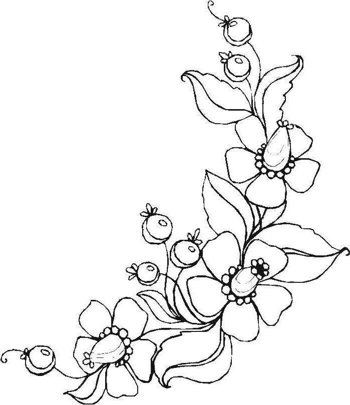 Henna Vorlagen Zum Ausdrucken Genial Ausmalbilder Blumen Ranken 01 Zeichnen Pinterest Sammlung