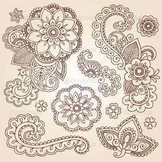Henna Vorlagen Zum Ausdrucken Neu 64 Besten Zentangle Bilder Auf Pinterest Fotos