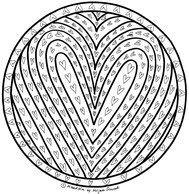 Herz Mandalas Zum Ausmalen Einzigartig 199 Besten Mandalas Zum Ausdrucken Für Kinder Erwachsene Bilder Stock