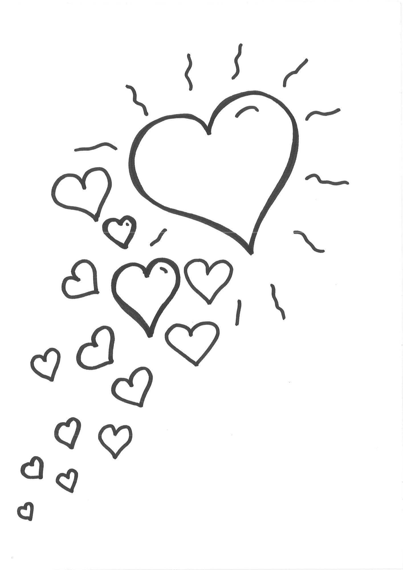 Herz Zum Ausmalen Frisch 40 Herz Malvorlagen Scoredatscore Schön Herz Ausmalbilder Beste Stock