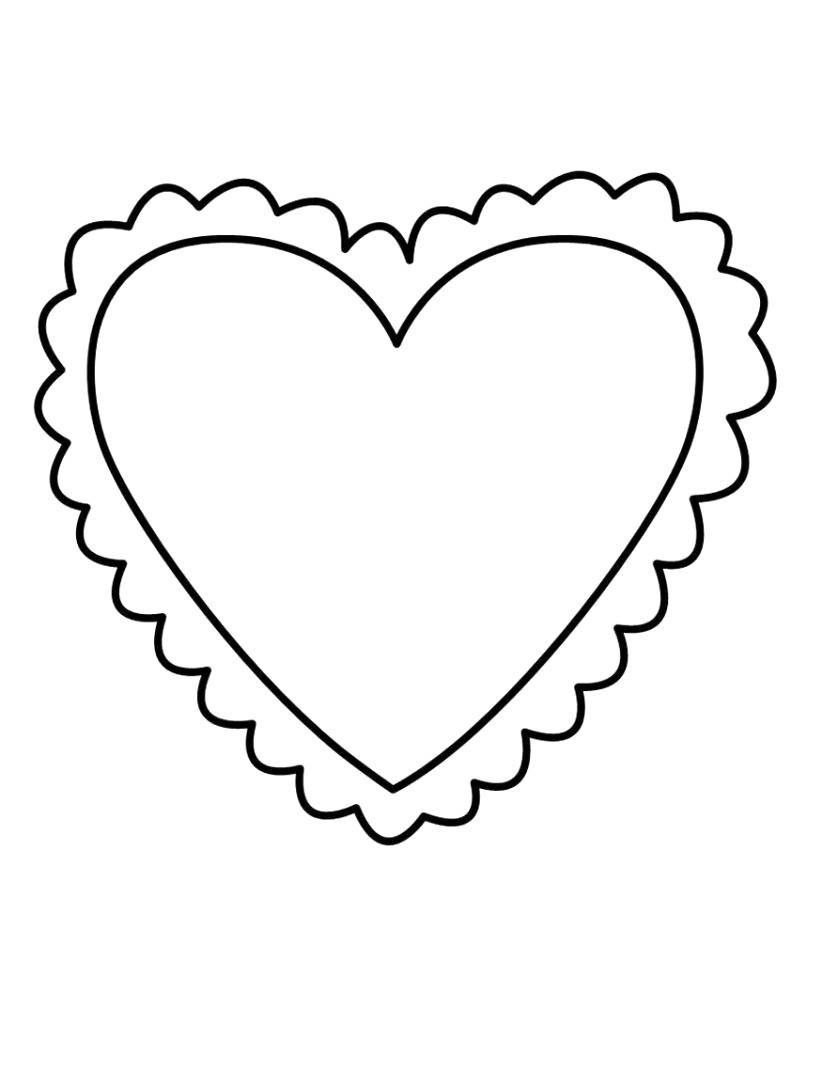 Herz Zum Ausmalen Genial Herz Malen Vorlage Bilder Ideen Bilder