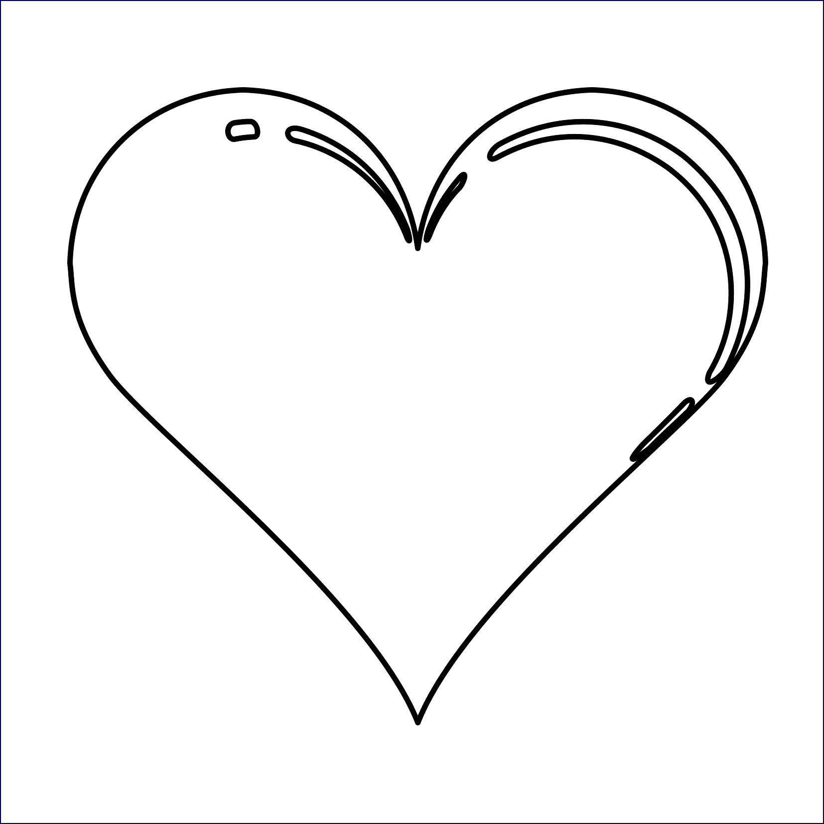 Herz Zum Ausmalen Genial Herz Malen Vorlage Bilder Ideen Das Bild