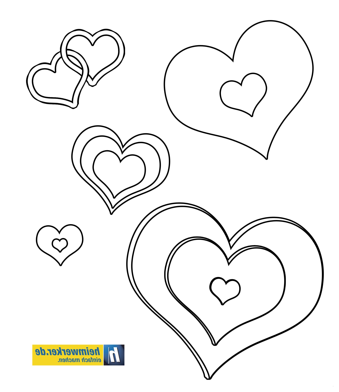 Herzen Zum Ausmalen Das Beste Von 22 Lecker Malvorlage Herz – Malvorlagen Ideen Bilder