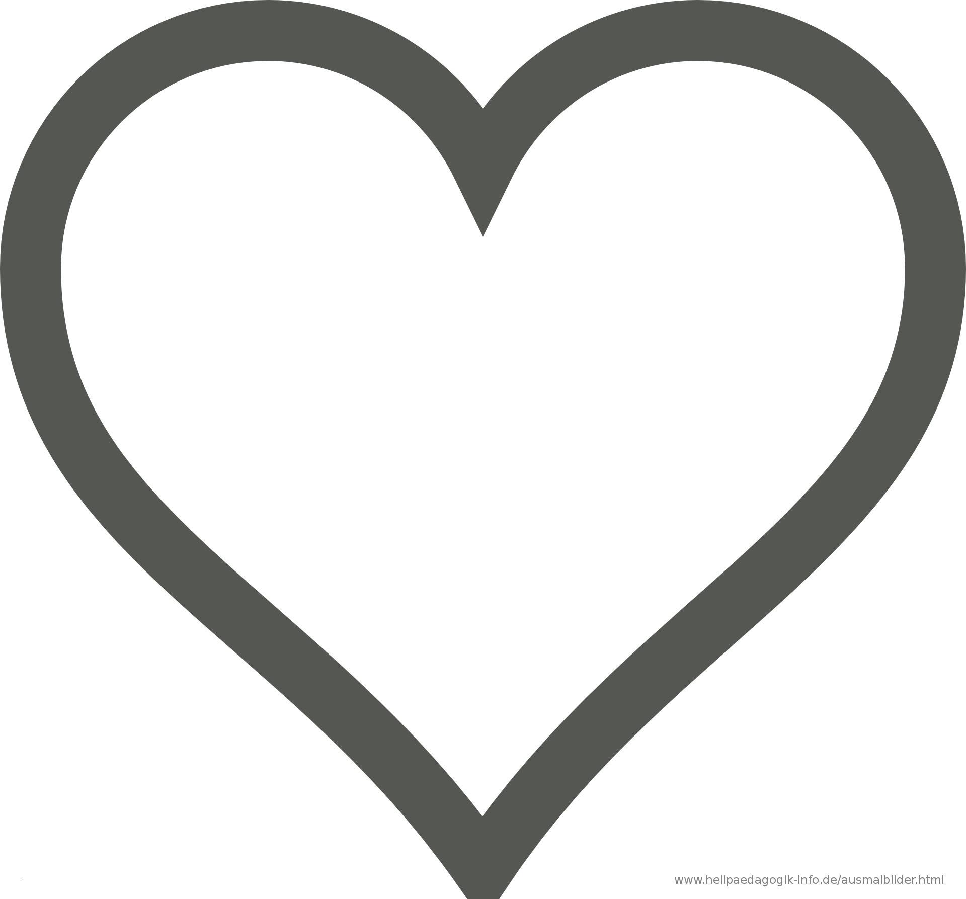Herz Malvorlagen Einfach Pin Herz Herzen Ausmalbilder Herzen Bilder