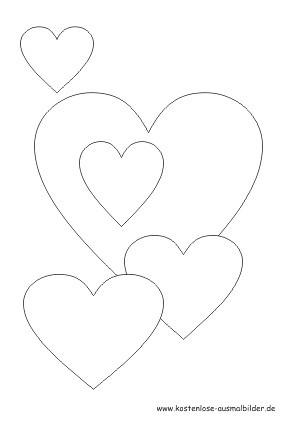 Herzen Zum Ausmalen Inspirierend Herz Malen Vorlage Bilder Ideen Fotos