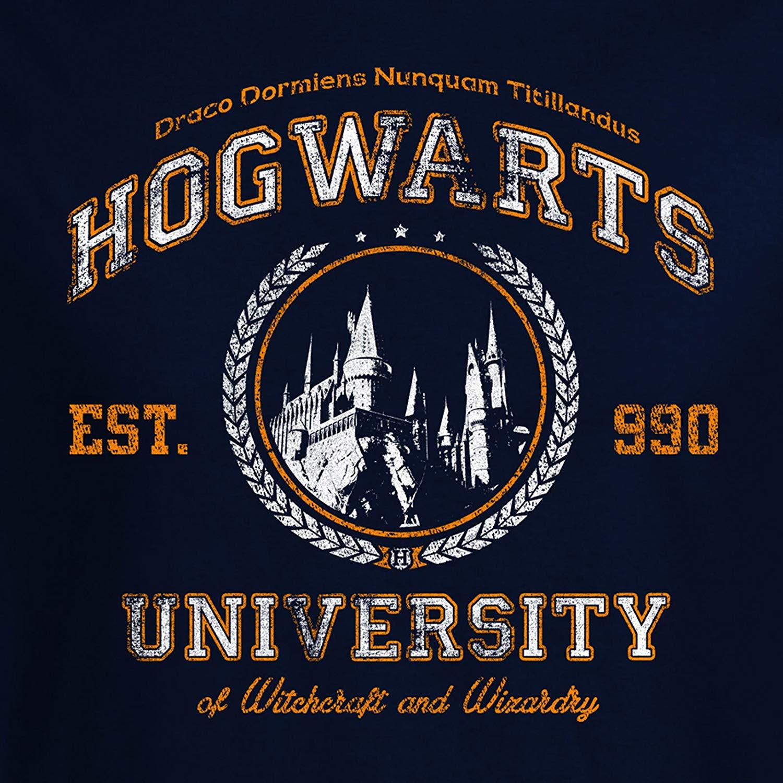 Hogwarts Wappen Zum Ausdrucken Das Beste Von Magic University T Shirt Hogwarts Fun Shirt Zu Harry Potter Navy Bild