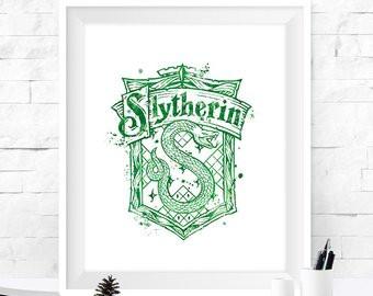 Hogwarts Wappen Zum Ausdrucken Das Beste Von Slytherin Drucken Fotografieren