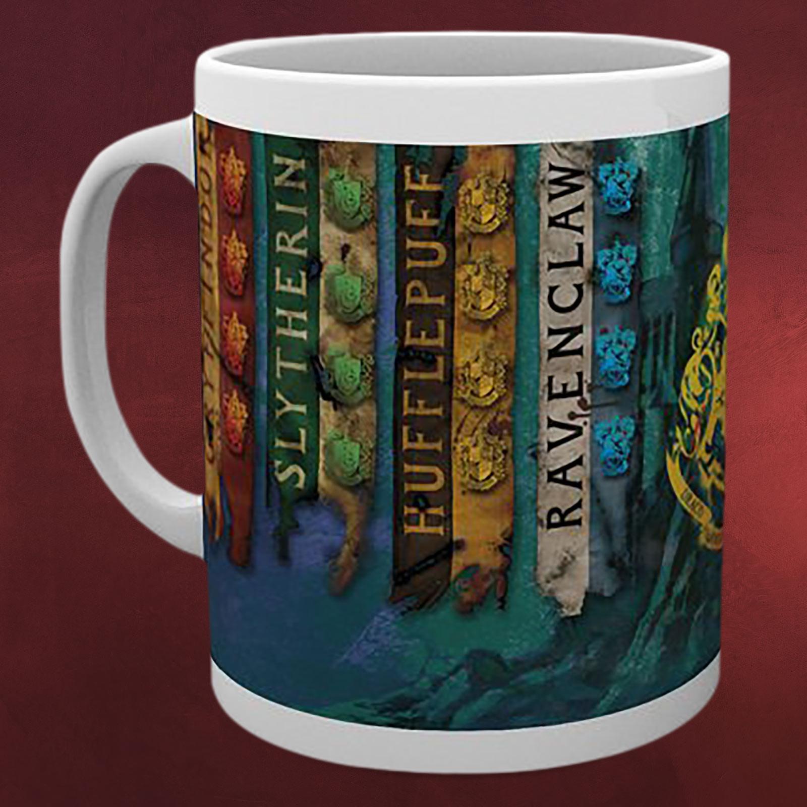 Hogwarts Wappen Zum Ausdrucken Neu Harry Potter Häuser Banner Tasse Galerie