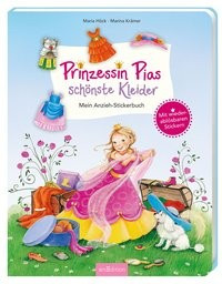 Hummel Bilder Zum Ausmalen Das Beste Von Prinzessin Pias Schönste Kleider Mein Anzieh Stickerbuch Stock