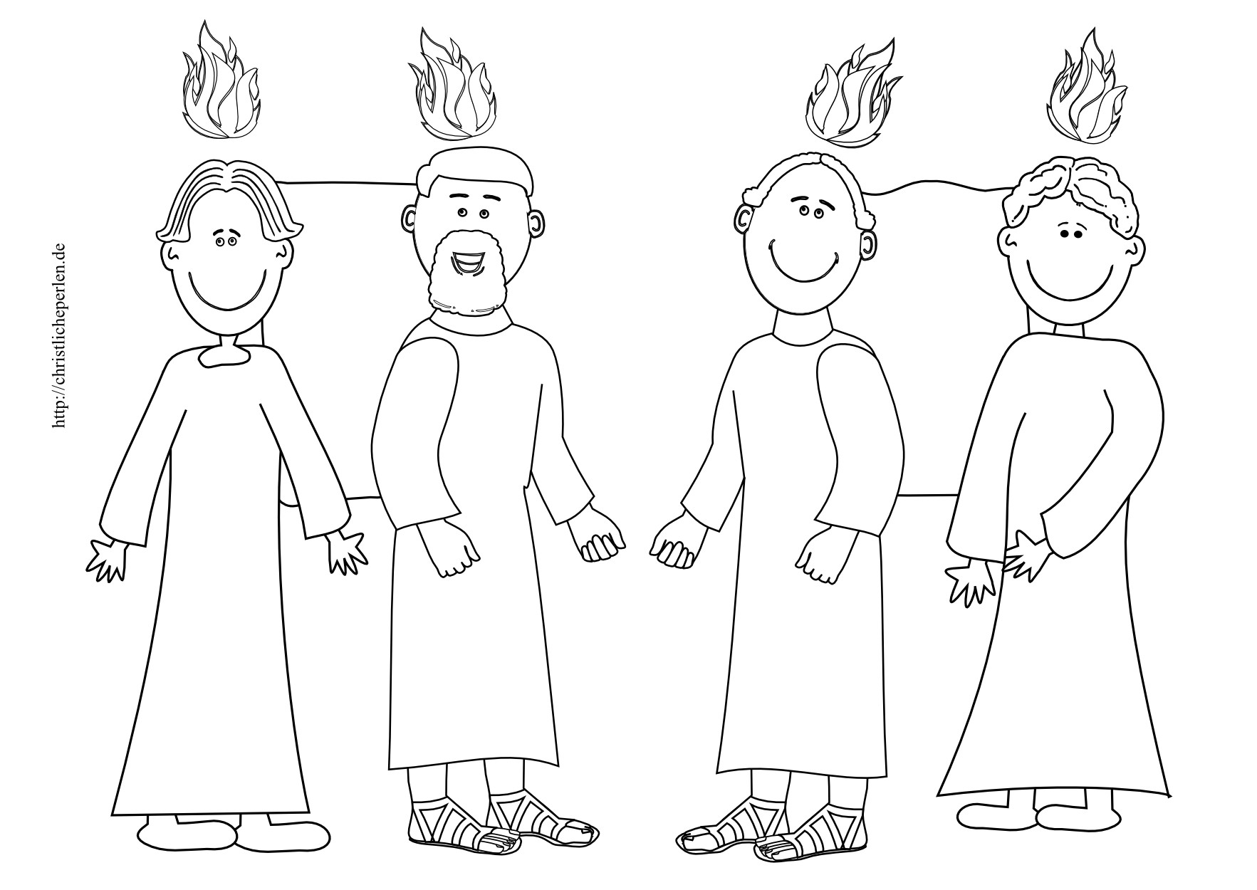 Jakob Und Esau Ausmalbilder Das Beste Von Ausmalbilder Zu Pfingsten Stock