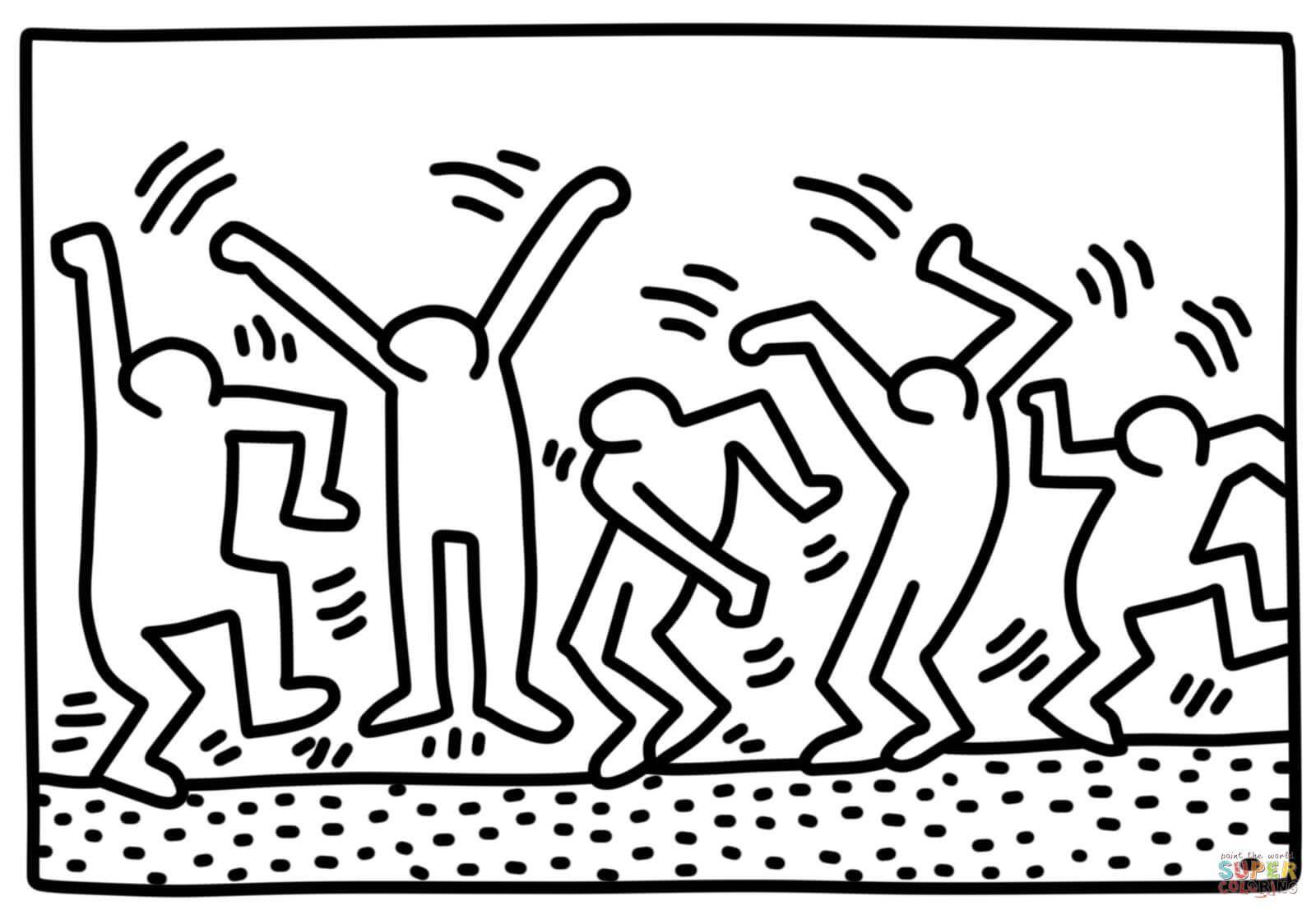 James Rizzi Ausmalbilder Inspirierend 48 Ehrfürchtig Keith Haring Malvorlagen Ausdrucken Malvorlagen Fotos