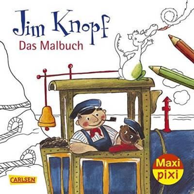Jim Knopf Ausmalbilder Frisch Kinderbücher Basteln & Malen Bestseller Bild