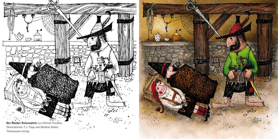 Jim Knopf Ausmalbilder Inspirierend Der Räuber Hotzenplotz Bild