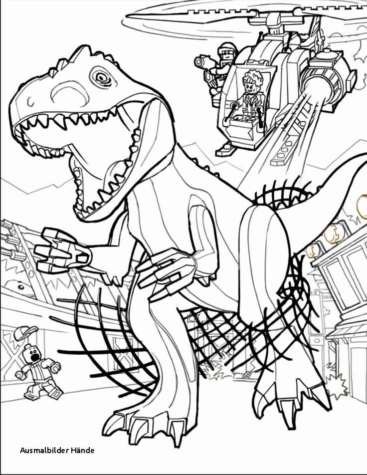 Jurassic Park Ausmalbilder Das Beste Von Ausmalbilder Hände Lego Coloring Pages Jurassic World Printables Bild