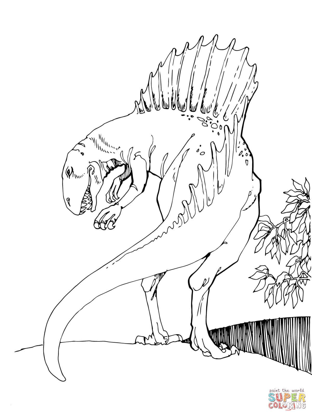 Jurassic Park Ausmalbilder Genial Ausmalbilder Jurassic World Für Kinder Genial Spinosaurus Bild